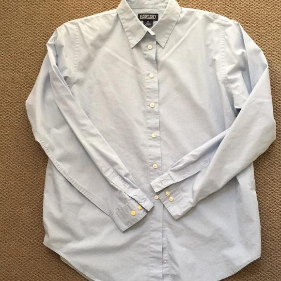Lands' End Tops - Lands' End light blue shirt